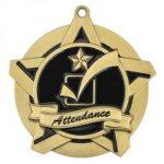 Super Star Medal -Attendance  Dance Trophy Awards