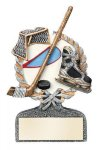 Multi Color Sport Resin Figure -Ice Hockey Hockey Trophy Awards