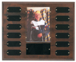 Cherry Finish Photo Perpetual Plaque Monthly Perpetual Plaques