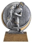 Motion X 3-D -Tennis Male  Motion X Action 3D Resin Trophy Awards