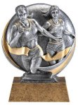 Motion X 3-D -Track Female Motion X Action 3D Resin Trophy Awards