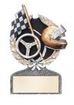 Racing Multi Color Sport Resin Figure Multi Color Sport Resin Trophy Awards