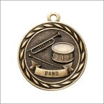 Scholastic Medal - Band Music Trophy Awards