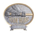 Legend Oval Award -Teamwork Oval Resin Trophy Awards