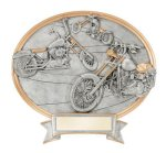 Legend Chopper Oval Award Oval Resin Trophy Awards
