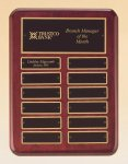 Rosewood Piano Finish Perpetual Plaque Sales Awards