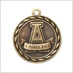 Scholastic Medal - A Honor Roll Scholastic Trophy Awards