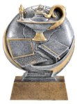 Motion X 3-D -Lamp of Knowledge  Scholastic Trophy Awards