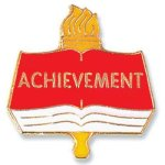 Achievement Lapel Pin Scholastic Trophy Awards