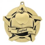 English Super Star Medal Scholastic Trophy Awards