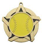 Super Star Medal -Softball Softball Trophy Awards