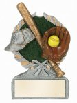Multi Color Sport Resin Figure -Softball Softball Trophy Awards