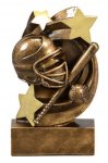 Star Swirl Award -Softball Softball Trophy Awards