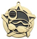 Super Star Medal -Swim  Swimming Trophy Awards