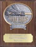 Teamwork Resin Plaque Mount Award Teamwork Trophy Awards